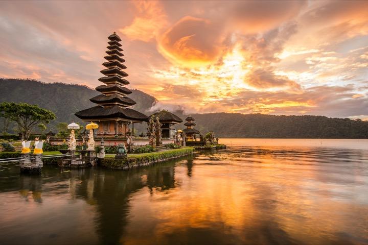 Sunlight in Bali Indonesia