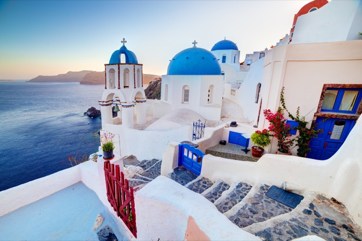 Santorini, Greece just can't take a bad photo