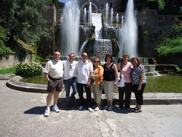 Day trip to Tivoli gardens, Villa D'Este and Catacombs