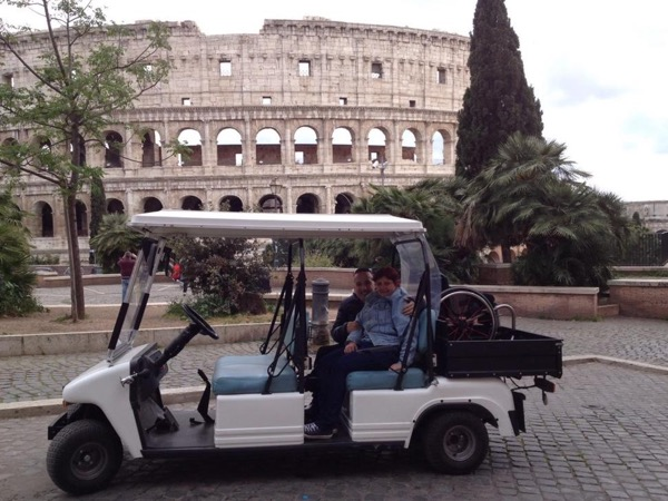 Rome by electric Golf Cart guided tour