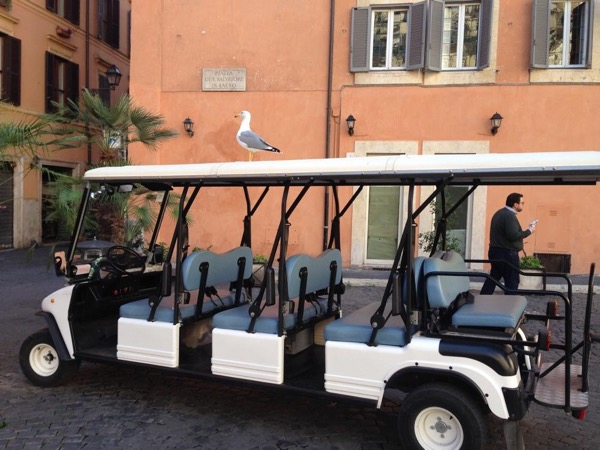 Rome by Golf Cart followed by Vatican or Colosseum & Forum private guided tour, skip the line.