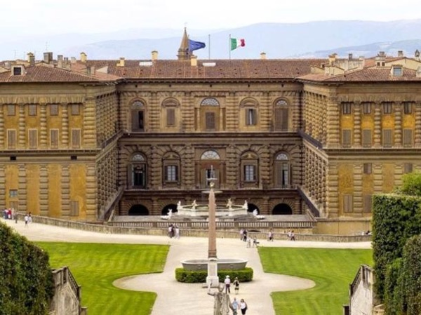 Pitti Palace and the Raphael collection