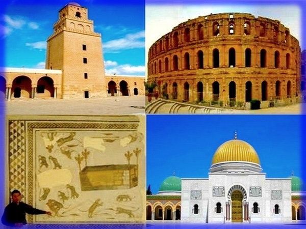 Full Day private Tour Kairouan - Roman coliseum of El Jem