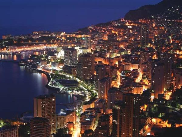 Monaco private tour by Night- Half night tour