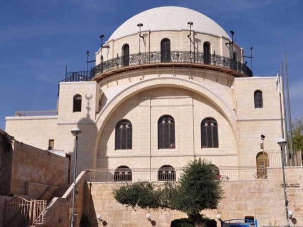 Hurva Synagogue tour