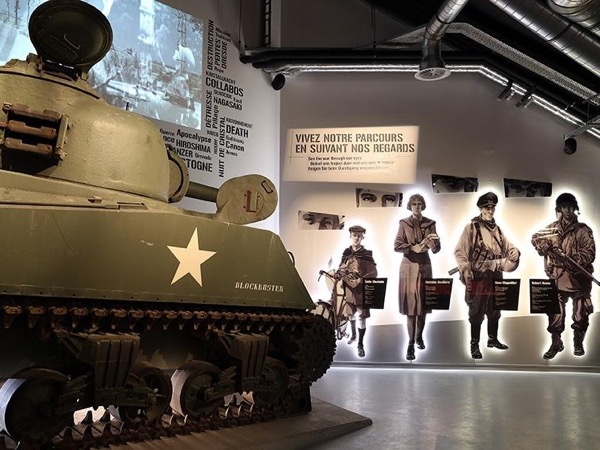 Battle of the Bulge - Bastogne (from Brussels)