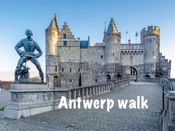 Highlights of Antwerp guided walk (3h)