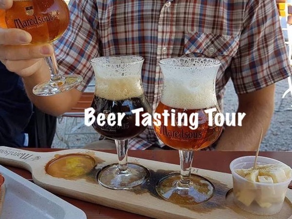 Beer tasting walk in Brussels with private local guide