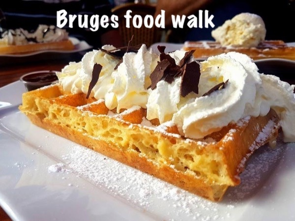 Taste, talk and walk in Bruges with private local guide