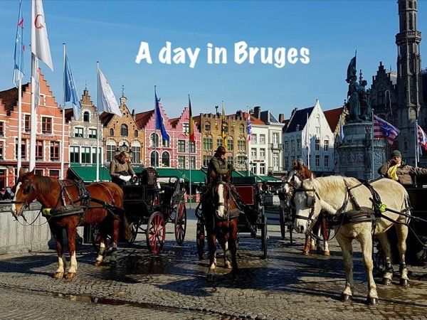 Bruges day tour with local guide (includes finger food and canal cruise)
