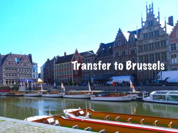 Private stress-free transfer from Bruges to Brussels with guided walk in Ghent