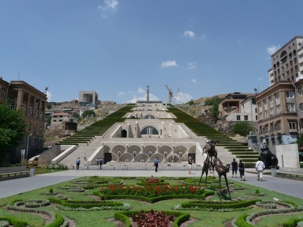Yerevan walking city tour