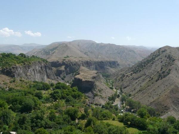 Yerevan - Azat Gorge - Garni Sun temple - Geghard cave monastery