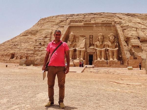 Abu Simbel temples.