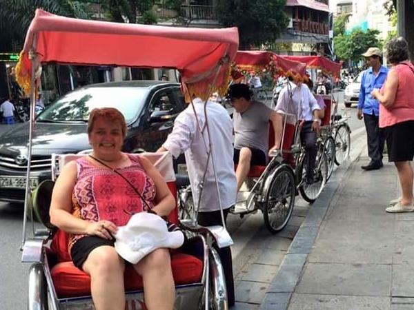 Hanoi walking and cyclo tour