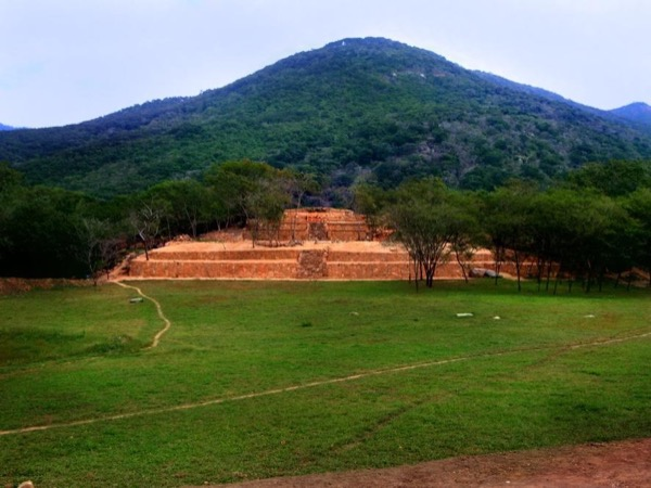 Tehuacalco, Archaeological zone, one hour from Acapulco, Mexico