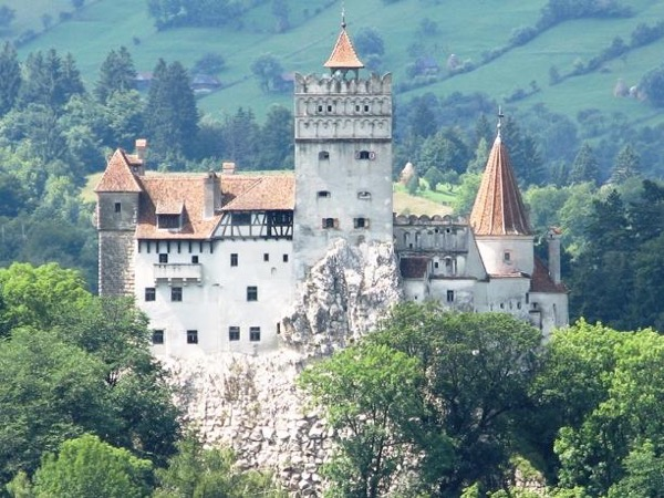 Transylvania day trip - two castles and a medieval town