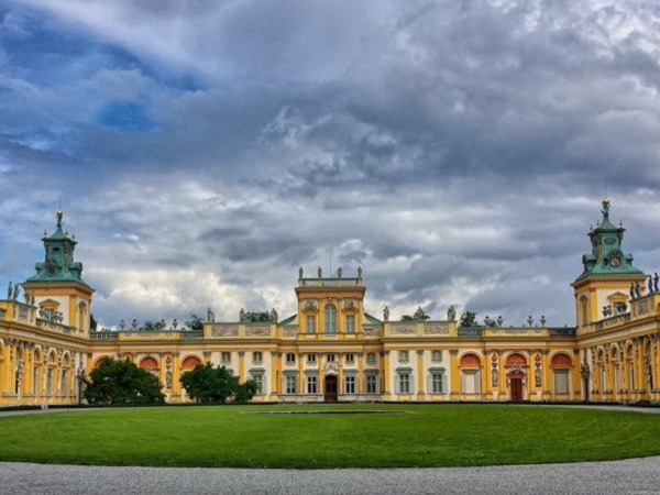 Warsaw with Wilanow Palace