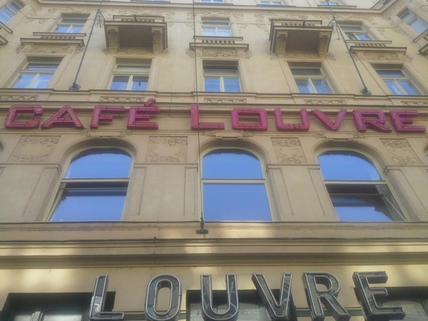 Breakfast in Cafe Louvre & Stroll through Prague with Private Guide