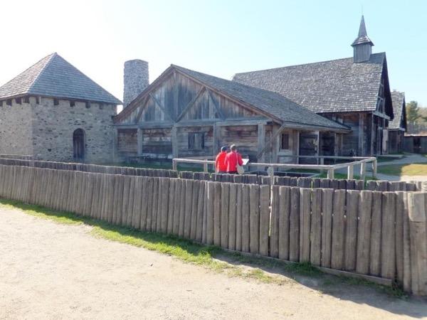 Midland heritage village tour