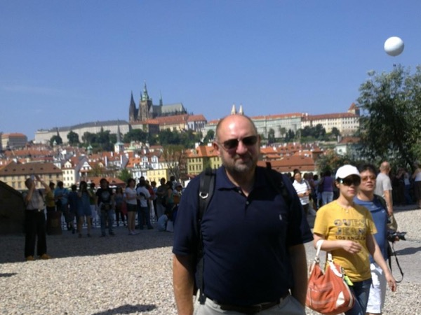 Walking tour of Prague with private guide (highly recommended for skilled walkers)