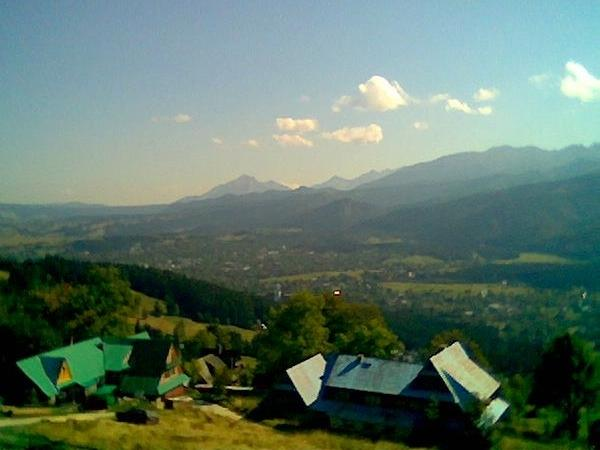 Zakopane - town at foot of the Tatra Mountains