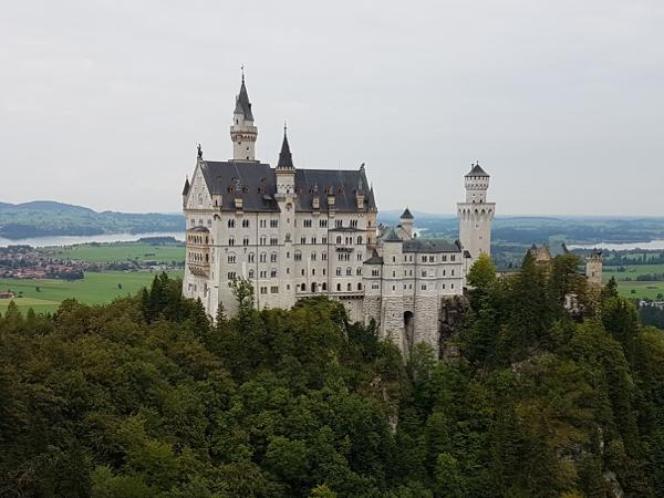 Castle Neuschwanstein Full day tour from Salzburg can even end in Munich