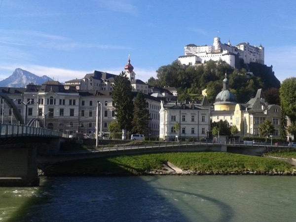 Walking and biking tour of Salzburg