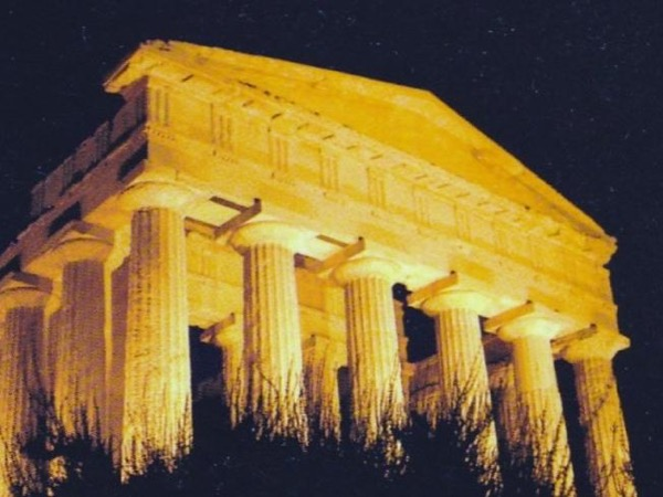 Valley of Temples by Night
