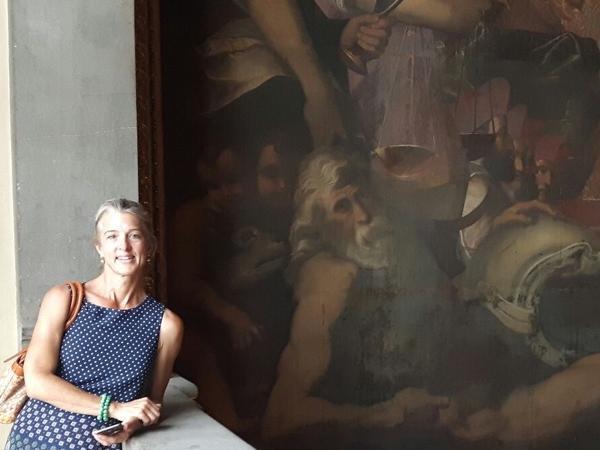 Private tour guide Laura
