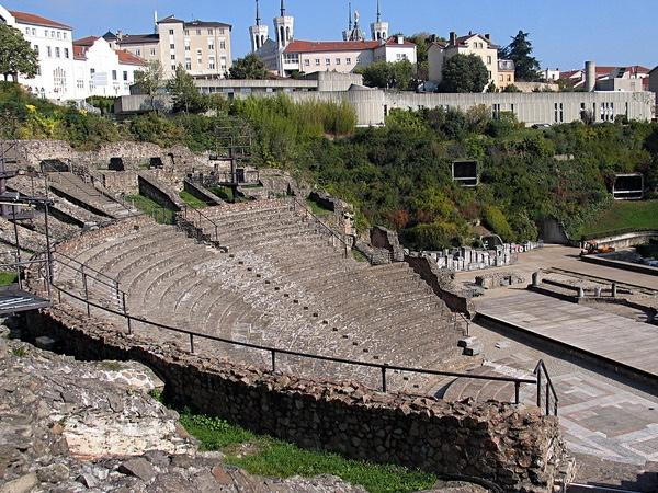 The Roman city of Lyon (vestiges & museum)