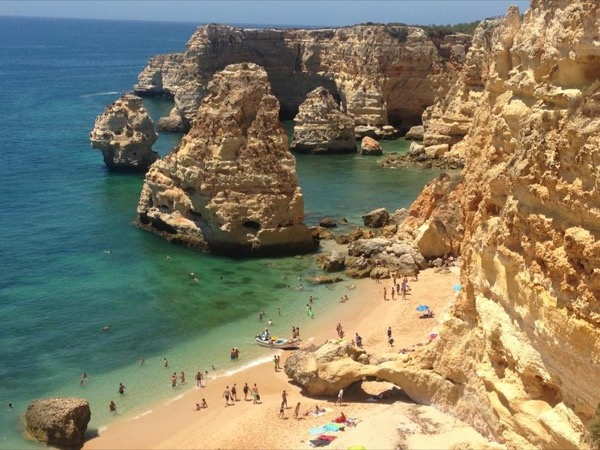 Algarve beaches from Lisbon