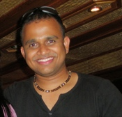 Private tour guide Sunil Sathyan