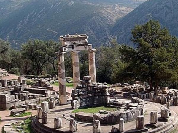Private day tour of Delphi the oracle of Ancient Greece and the monastery of St. Luke