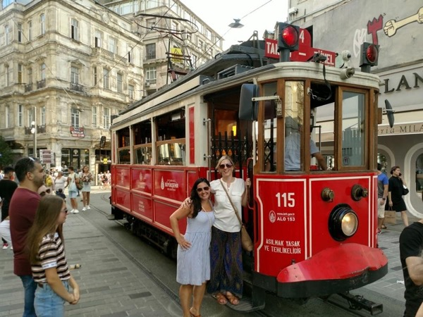 4 -5 hour walking tour with street car, public ferry, funicular