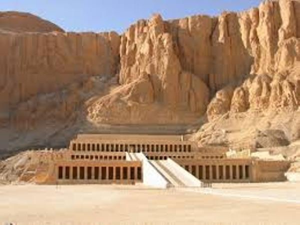 The west bank of Luxor