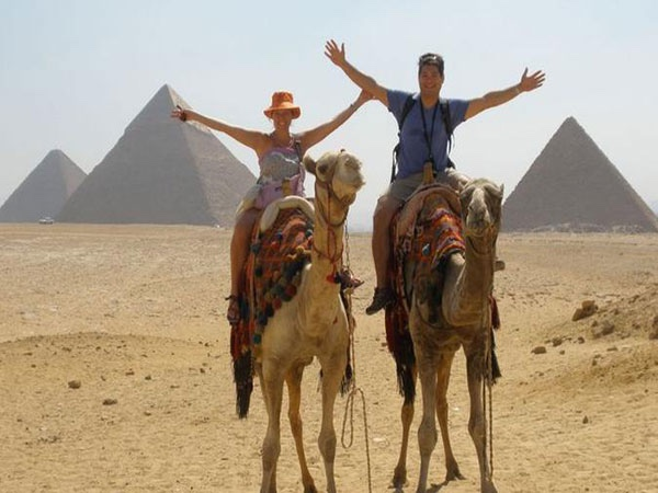Sunset Camel or Horse ride at Pyramids