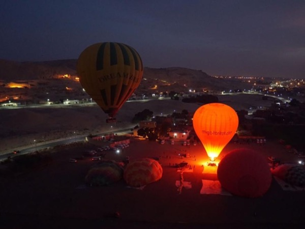 Luxor Hot air balloon trip