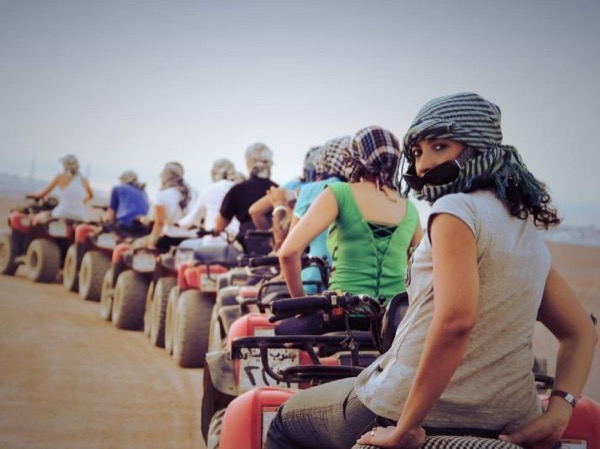 ATV Quad Bike Ride at Great Pyramids