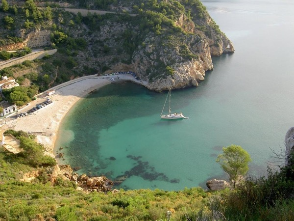 Javea paradisiac beaches: Cala Ambolo & Cala Granadella up to 6 people