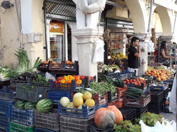 Browsing in Old Corfu Town