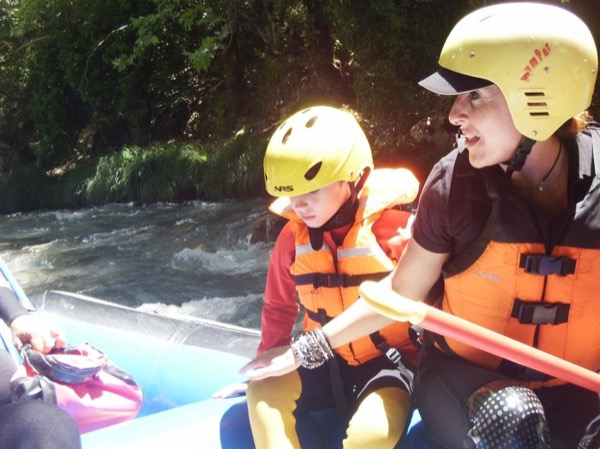 Whitewater Rafting Olympia Tour