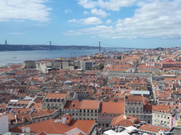 The monumental area of Lisbon