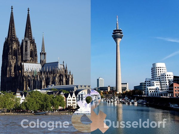 Dusseldorf and Cologne - The Rhineland Rivals Day Private Tour