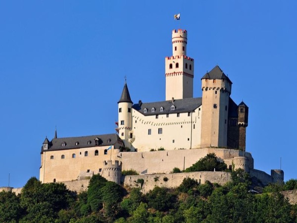 Marksburg Castle from Koblenz Private Tour