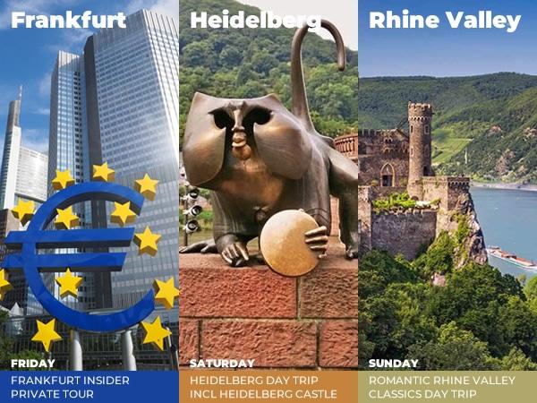 Frankfurt, Heidelberg and Rhine Valley Weekend Special