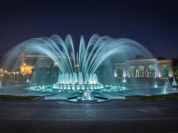 Water-Fountain Park, Light Show & Dinner at a peruvian rotisserie chicken restaurant