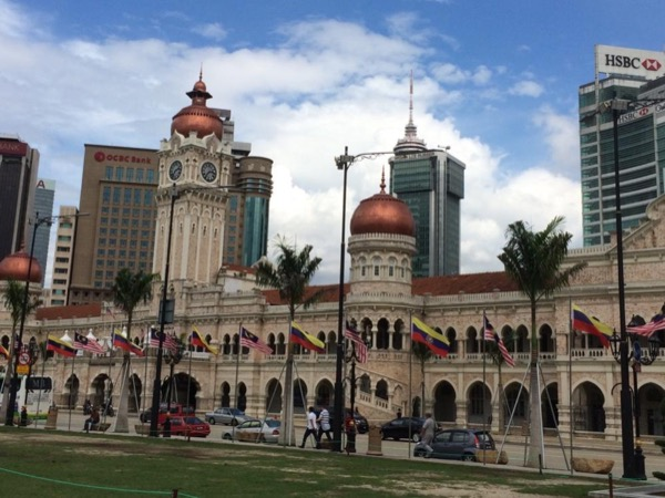 A Heritage Colonial Malaya, Old City & KLCC Walking Tour.