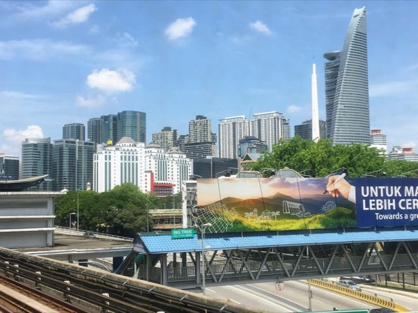 Explore KL by RAIL - Get to see the REAL city. You'll surely enjoy it.