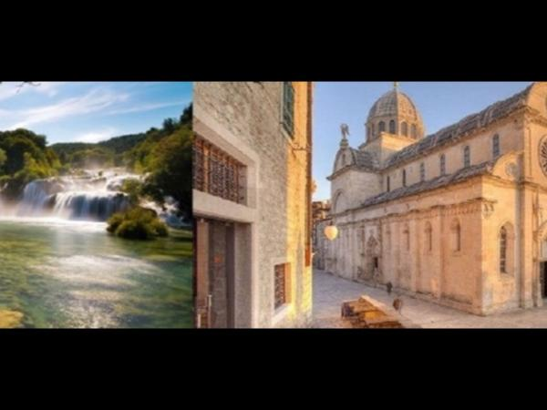Sibenik and Krka waterfalls private tour from Sibenik